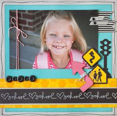 My Acrylix® School is Here stamp set (B1407) #CTMH