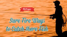 Don't come up short next time you head out for some fishing! Here are some surefire ways to catch more fish. #Prepping #Preppers #Homesteading #Survival #MsPrepper