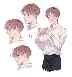 bts anime art,bts drawings ja f Character Drawing, Character Illustration, Illustration Art, Bts Drawings, Drawing Sketches, Anime Kunst, Anime Art, Drawn Art, Drawing Reference Poses