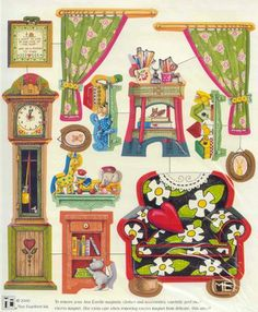 Mary Engelbreit printable - furniture