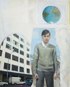 Scandanavian Man, 2011oil on canvas1170mm x 940mm  Simon Stone