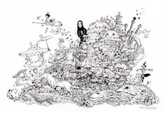 stunning sketching by kerby rosanes doodles pinterest sketches