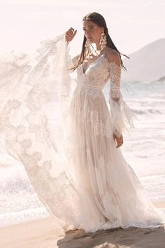 Wedding Dresses | Abbott's Bridal | Canton, OH Bridal Boutique Bohemian Wedding Dresses, Dream Wedding Dresses, Bridal Dresses, Wedding Gowns, Bohemian Bride, Bohemian Weddings, Wedding Suite, Bridal Sash, Morrocan Wedding Dress