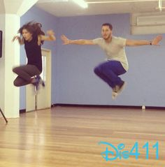Val & Zendaya  -  Dancing with the Stars  -  season 16  -  Rehearsal Photo March 22, 2013