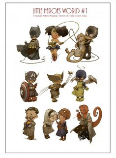 little-heroes-world-by-alberto-varanda