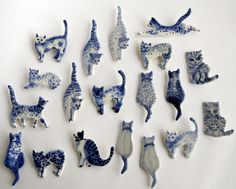 porcelain cats | Flickr - Photo Sharing!