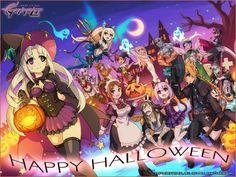 Azure Striker Gunvolt - Halloween wallpaper