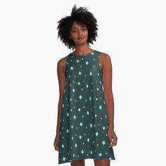 Cute Butterfly, Butterfly Pattern, Mandala Pattern, Blue Christmas, Christmas Stars, Blue Polka Dots, Star Patterns, I Dress, Chiffon Tops