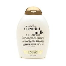 Nourishing Coconut Milk Shampoo (and Conditioner)- just bought this, hope it works!