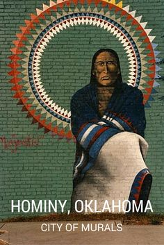 Artist Cha' Tullis began painting a series of vibrant murals, which depict various aspects of Native American folklore, throughout downtown Hominy, Oklahoma, in 1990. View a complete map to all of these must-see murals and don't miss the artist's very own gallery and gift shop on Main Street.
