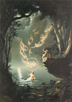 "Douglas Harvey (British fl. 1853-72) - ""Oberon and the mermaid"" | Flickr - Photo Sharing!"