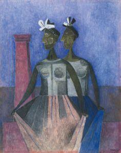 Rufino Tamayo - Las Danzantes del Itzmo - 1944