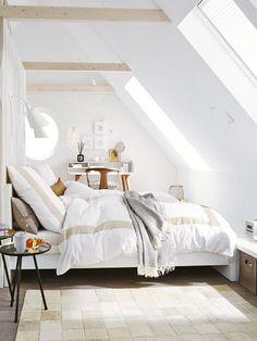 Unterm Dach das Schlafzimmer einrichten