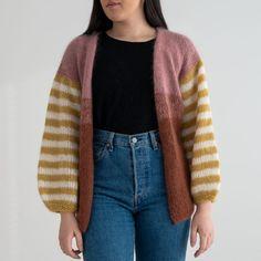 Chunky jakke Deilig tykk og varm jakke strikket i halvpatent