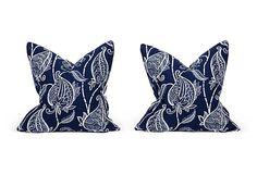 Blue Barclay Butera Pillows, Pair II on OneKingsLane.com