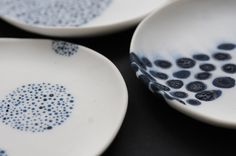 Ocean-inspired porcelain designs by Maria Moyer| Dwell