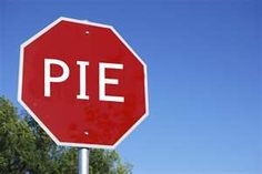 Stop in the name of Pie