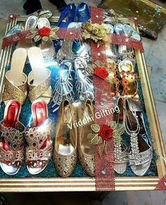 u Gift Packing. Indian Wedding Gifts, Indian Wedding Decorations, Desi Wedding, Indian Bridal, Wedding Gift Baskets, Wedding Gift Wrapping, Wedding Gift Boxes, Wedding Ideas, Trousseau Packing