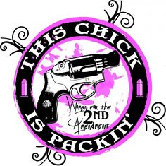 Liberty Guns - This Chick Is Packin' Window Decal, $3.95 (http://libertyguns.com/this-chick-is-packin-window-decal/)