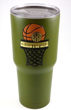 This split monogram design may be used to make customized gifts of all types for your basketball playing loved ones. Customize with a name or team number, then cut out of vinyl or iron-on to customize shirts, mugs, and more! Softball Gifts, Cheerleading Gifts, Basketball Gifts, Sports Gifts, Basketball Plays, Basketball Workouts, Basketball Design, Basketball Hoop, Coach Gifts