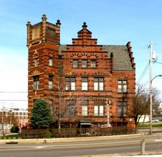 "The ""Castle"" ... Akron, Ohio.  We went through it years ago when it was a haunted house at Halloween."