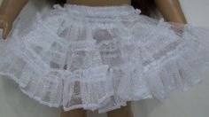"""CRINOLINE Petticoat Underskirt Slip Doll Clothes For 18"""" American Girl (Debs) 