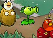 juego Angry Birds Vs Zombies Crossover
