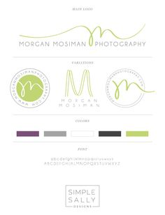 Logo Style Guide by Simple Sally | www.simplesallydesigns.com