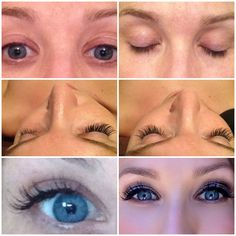 Lash extensions! Perfect for weddings, events and just for fun! Bomb Hair Salon Las Vegas - Lashes by Serenity @Serenity Contreras   #lashextensions #lasvegas #makeup #eyelashes