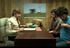 All of Murrays New Zealand Tourism posters from Flight of the Conchords