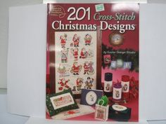 201 Cross-Stitch Christmas Designs >>> For more information, visit image link.