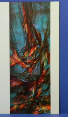 Leonardo Nierman Ascending Wind Abstract by QueeniesCollectibles, $15.99