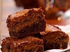 Chocolate Chip Brownie Bars from FoodNetwork.com
