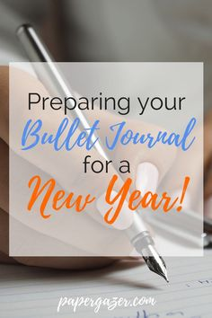 Setting goals and organizing your planner or bullet journal for the new year! Set yourself up for success.