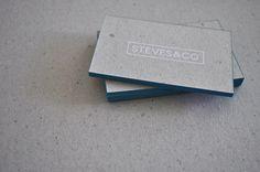 Steves Silkscreen Business Cards