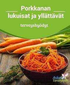 Porkkanan lukuisat ja yllättävät #terveyshyödyt   Porkkana on kuin #nuoruudenlähde #kehollesi.  #Terveellisetelämäntavat Carrots, Food And Drink, Vegetables, Healthy, Facts, Life, Carrot, Vegetable Recipes, Health