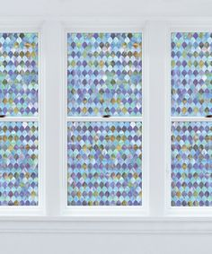 This Peacock Window Film by Brewster Home Fashions is perfect! #zulilyfinds