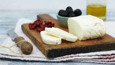 """Traditional Cyprus cheese called """"Halloumi""""."""