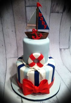 1000+ images about Cakes - Nautical on Pinterest ...
