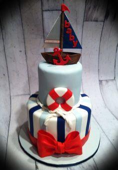 Nautical Cake Decorations Uk : 1000+ images about Cakes - Nautical on Pinterest ...