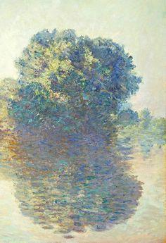 "elpasha71:  "" Claude Monet .  The Seine at Giverny,  1897  """