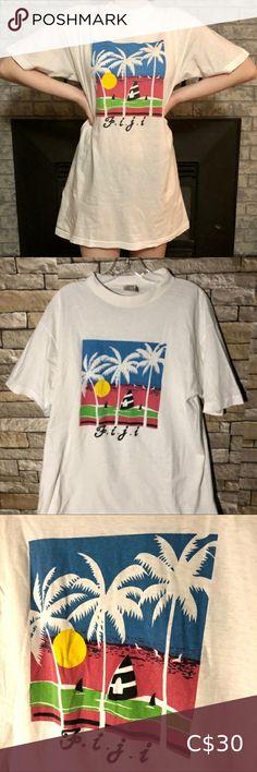 Cute Vintage Figi Vacation Graphic T-Shirt Dress Vacation Dresses, Shirt Dress, T Shirt, Cute, Mens Tops, Closet, Vintage, Things To Sell, Supreme T Shirt
