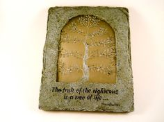 Beautiful Wall Plaque The Fruit of the by MissPattisAttic on Etsy