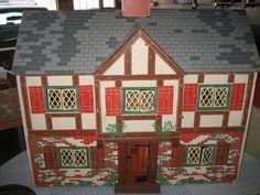Keystone Tudor doll house 1947 di TheDollsFarmhouse su Etsy