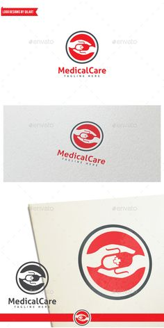 MedicalCare Logo Design Template Vector #logotype Download it here: http://graphicriver.net/item/medicalcare/11543371?s_rank=790?ref=nexion