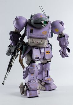 Armored Trooper Votoms Scopedog Melquiya color & Parachute Sack STEALTH VERSION 1:12 scale action figure set by Three Zero PREORDER