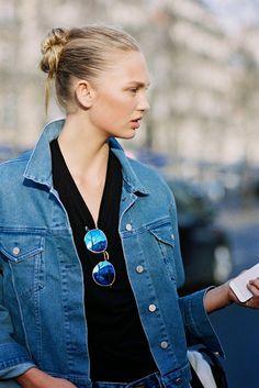 Vanessa Jackman: Paris Fashion Week AW 2015....Romee