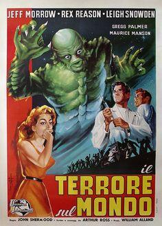 The Creature Walks Among Us (1956) (Italy)