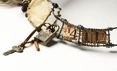 Susan Lenart Kazmer : Mixed Media Jewelry