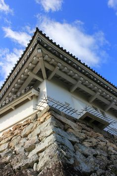 Kochi Castle is known for the spikes sticking out around the keep to prevent ninja from entering #ninja #Kochi